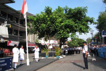 Upacara Bendera HUT RI ke-72