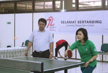 Lompa Tenis Meja HUT RI ke-72