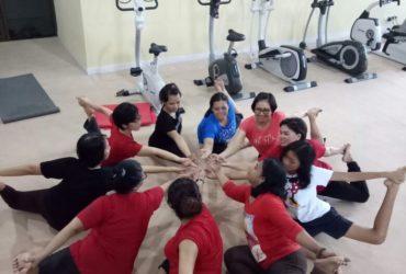 Senam Yoga Karyawan RS Bethesda
