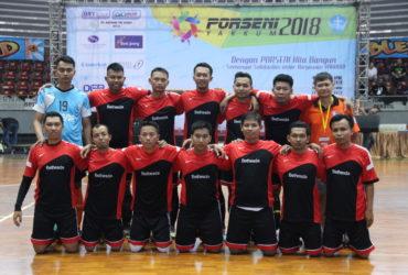 Kontingen Futsal RS Bethesda pada Porseni YAKKUM 2018